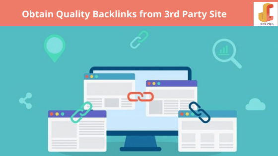 Obtain Quality Backlinks from 3rd Party Site