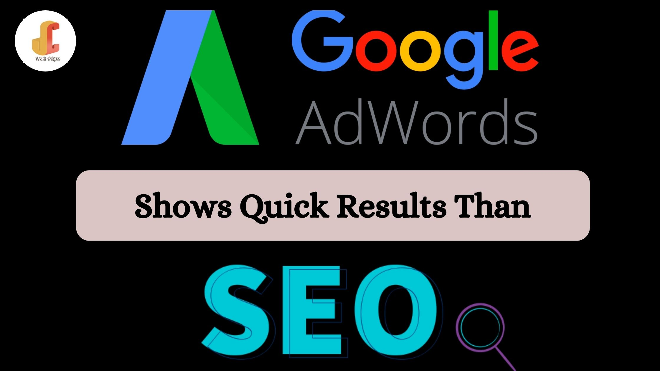 Google Adwords Show Quick Results than SEO